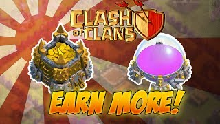 How to get TONS OF LOOT in clash of clans! Also we are back! What happened to my channel?