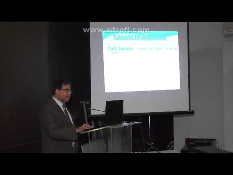 Introduction of Seminar on Immigration to Canada at LCCI arranged by Haseeb Ullah Khan