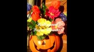 Beautiful Paper Flowers Handmade - Orchid, Hyacinth, Hydrangea, Halloween, Hibiscus