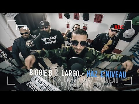 DRP ART LIVE N°35 ► BIGGIE G & LARGO ♫ #HAZeNIVEAU