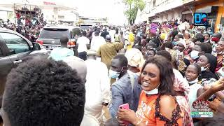 Arrivée du président Macky Sall à Kaolack: Mohamed Ndiaye Rahma mobilise ses troupes.