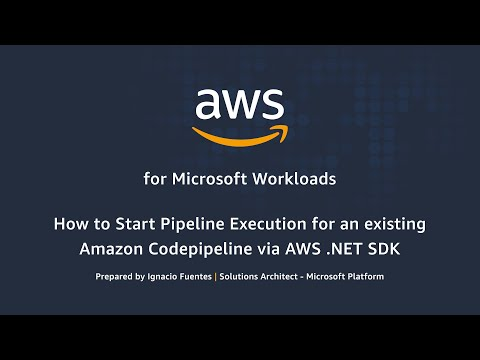 How to Start Pipeline Execution for an Existing Amazon Code Pipeline via AWS .NET SDK