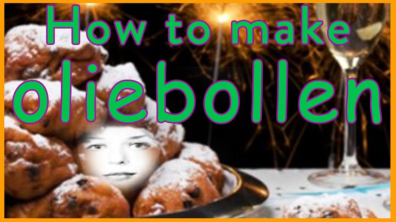 How To Make Dutch Oliebollen Gluten Free Vegan Youtube