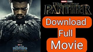 How to download black panther in tamil