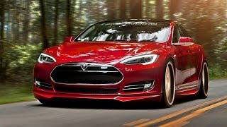 Tesla Model S Gains Aftermarket Bumper, Skirts and Spoilers