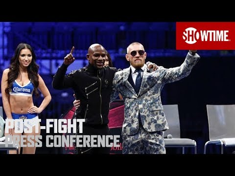 Mayweather vs. McGregor: Post-Fight Press Conference | SHOWT