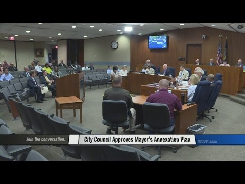 Mayor's Annexation Plan Approved
