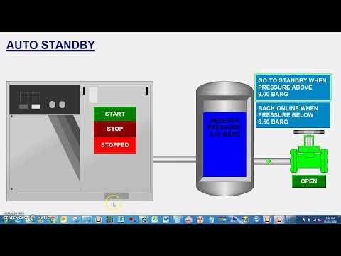 Automation Control Auto Standby