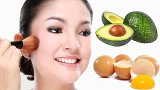 Look 18 Years younger Using Avocado u0026 White Egg Asian Anti-aging secrets