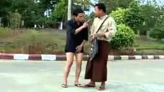 Myanmar Funny video-Min Maw Kun+Khant Si...