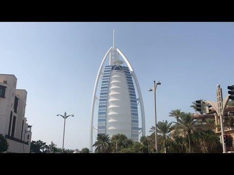 Burj Al Arab & Jumeirah Beach Hotel, Dubai, UAE – October 2019