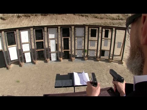 Russian Shooter Makes Music Using Guns