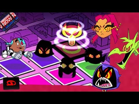 Teen Titans Go Rescue Of Titans Three Bosses Cartoon Network Games Youtube