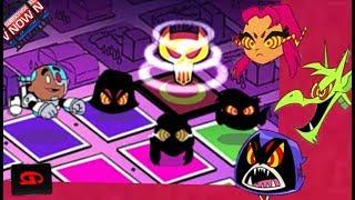 Teen Titans Go: Rescue of Titans - Three Bosses (Cartoon Network Games)