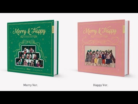 "트와이스 (TWICE) ""Merry & Happy"" Full Album Details Breakdown"