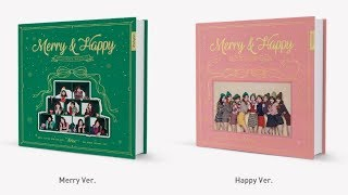 """트와이스 (TWICE) """"Merry & Happy"""" Full Album Details Breakdown"""