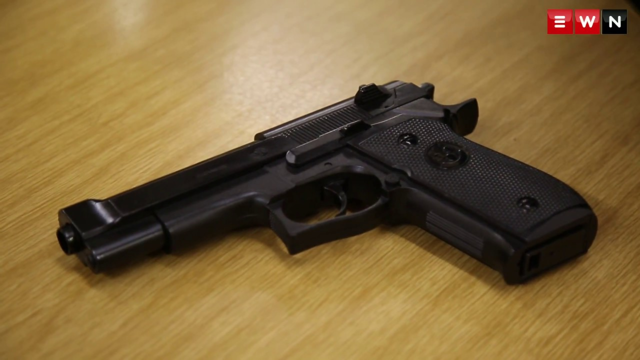 Can you tell the difference between this Pellet Gun and a Real Pistol