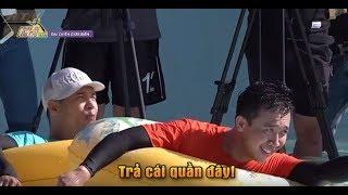Trấn Thành bỏ quần, chơi bất chấp trong cuộc chiến giành phao | CHẠY ĐI CHỜ CHI CDCC #7 25/5/2019