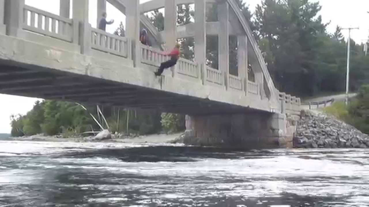 Blue hill reversing falls backflip youtube for What time is it in maine right now