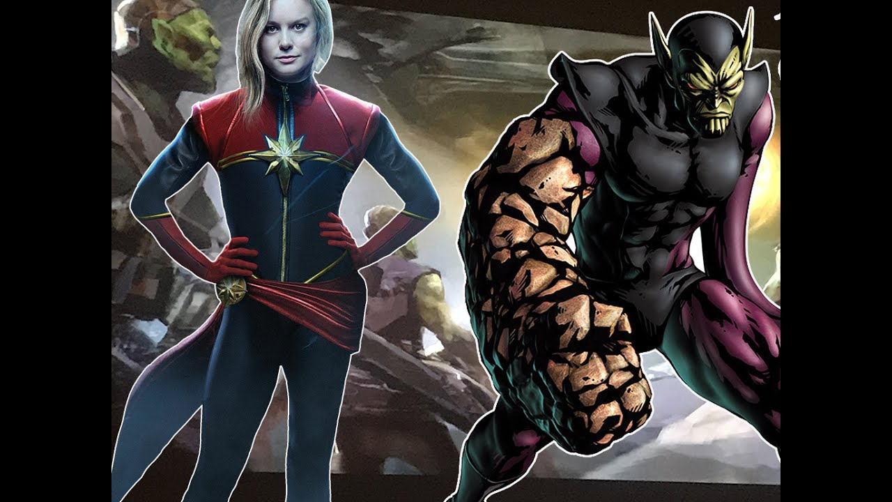 Captain Marvel Movie To Feature Kree Skrull War Explained And Is