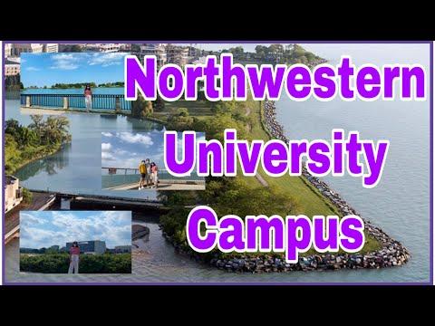 Campus Visit/Northwestern University In Evanston,Illinois