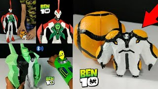 Compilation of 3 Different Ben 10 Aliens you can make at Home