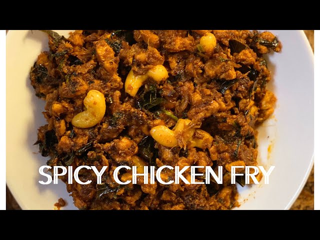 CHICKEN FRY! SIMPLE AND SPICY | Us Express Bindu Vlogs