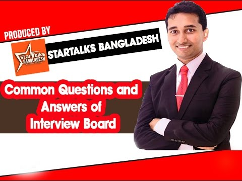 Common Interview Questions and Answers | Abeed Niaz,CEO,Corporate Ask at Startalks Bangladesh