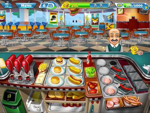 Cooking Fever Level 29 3 stars