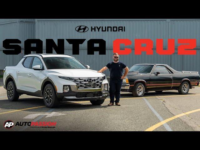 Hyundai Santa Cruz 2022 - Impossible À Confondre !