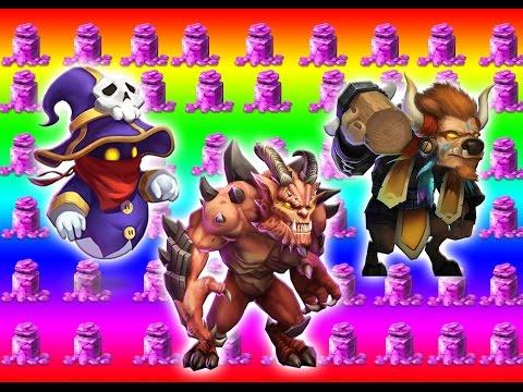 Collecting Spirit Mage, Minotaur And Destroyer!!!