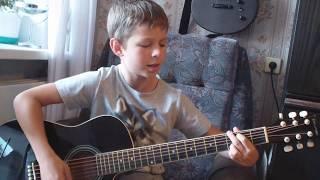 Несколько популярных песен на гитаре
