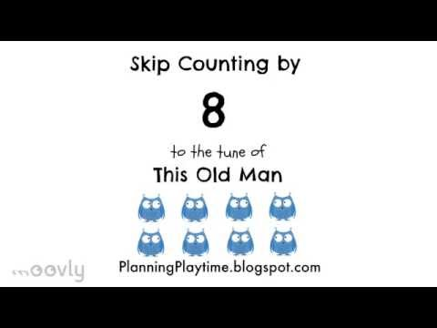Skip Counting by 8 to the tune of This Old Man