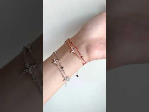 Lucia Double-Chained Bracelet