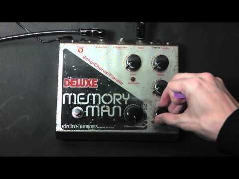 Electro-Harmonix Deluxe Memory Man Demo