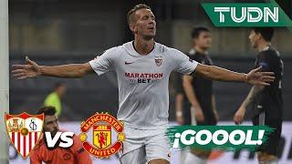 ¡GOOL! de Jong no perdona  | Sevilla 2-1 Man United | Europa League 2020 - Semifinal