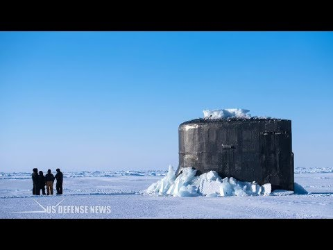 This Is How a Nuclear-Submarine Crashes Through Arctic Circle Ice