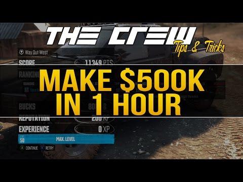 MAKE 500K IN 1 HOUR! | The Crew Tips & Tricks