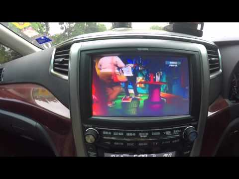 Toyota Alphard - Astro on board with (SELFSAT)
