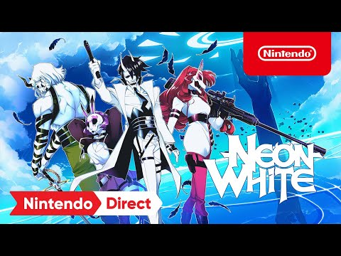 Neon White – Announcement Trailer – Nintendo Switch
