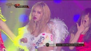 【TVPP】HYUNA - Bubble Pop!+Lip & Hip(Remix ver) (With WJSN) @MBC Gayo Daejejeon 2017