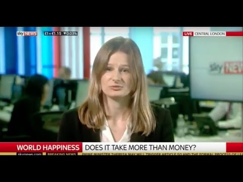 World Happiness Report: NEF's Annie Quick on Sky News 20.03.2017