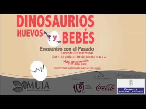 """Spot """"Dinosaurios: Huevos y Bebés. Encuentro con el pasado"""" en el MUJA"""