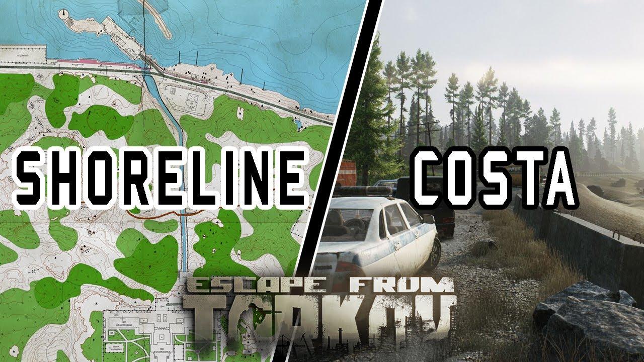 Guía de Extracciones para PMCs | Shoreline - Costa | Escape From Tarkov CBT