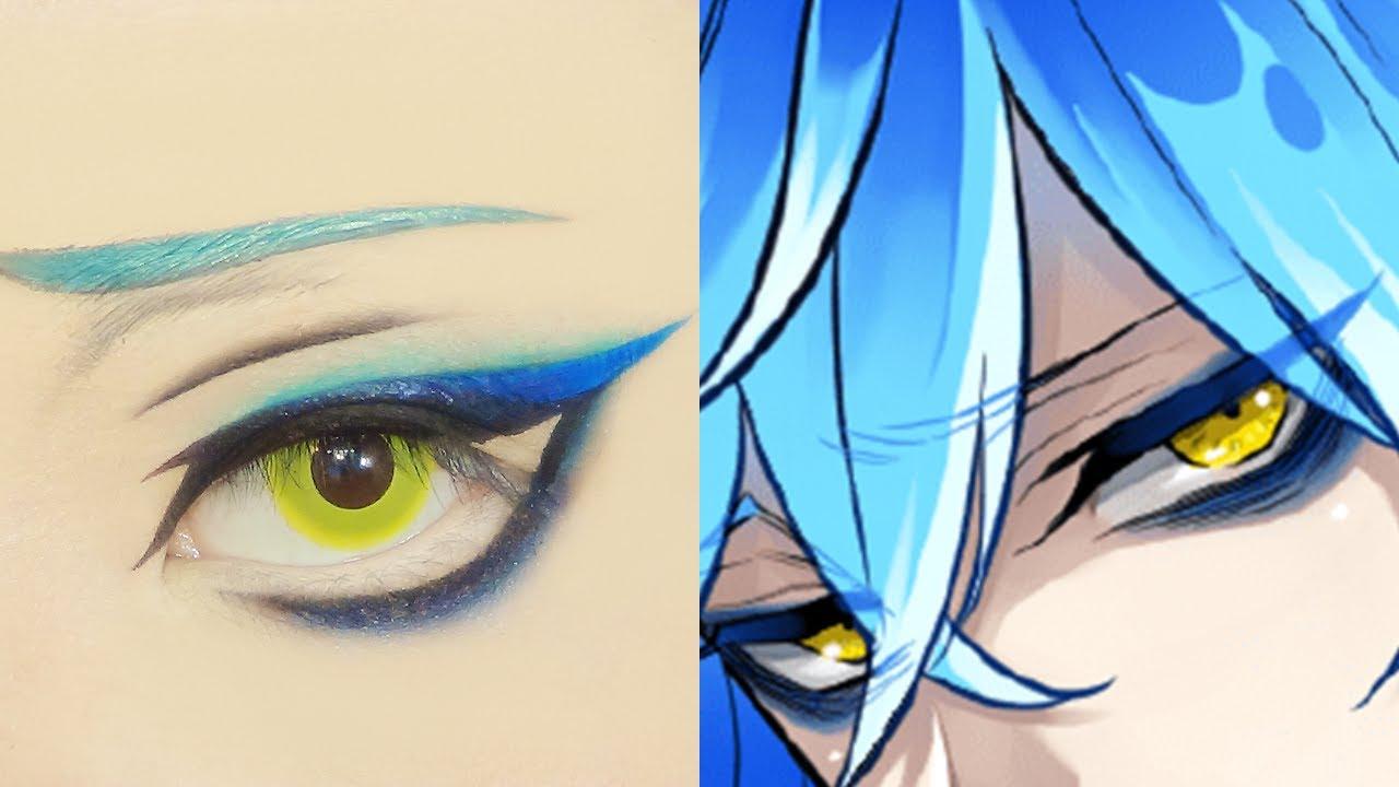 Idia Shroud イデア・シュラウド | Tutorial: Anime Eye Makeup 315
