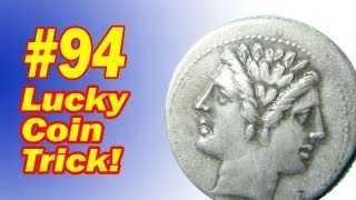 Lucky Coin Trick - Learn The Two Headed Coin Illusion