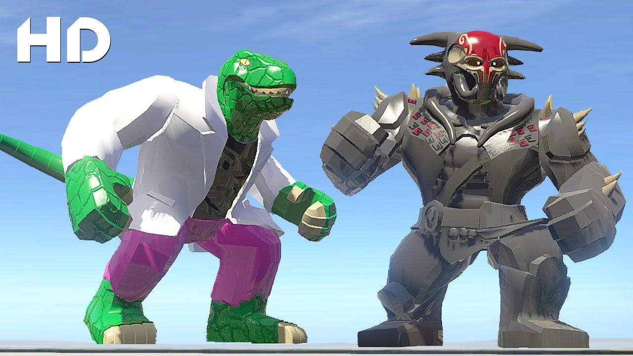 Lizard Vs Kurse (Dark World) - LEGO Marvel Super Heroes ...