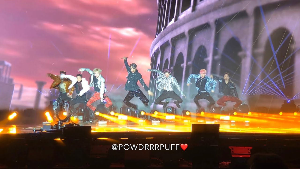 191005 - JOPPING - SUPER M - Live At Capitol Records Showcase - 4K HD Fancam 직캠