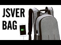 JSVER Laptop Backpack with USB Charging Port Review
