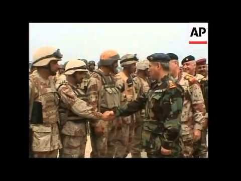 Iraqi military commanders meet to discuss fighting in Baquoba